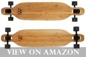 Magneto Bamboo Longboard for Cruising & Carving