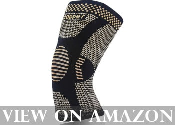 Copper Knee Brace for Arthritis Pain and Support