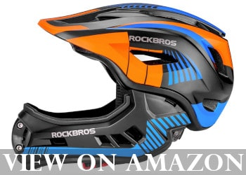 ROCK BROS Full Face Skate Helmet for Kids