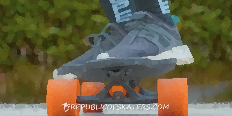 boosted board in the rain